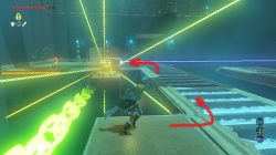 Jee Noh Shrine Laser Zelda Botw