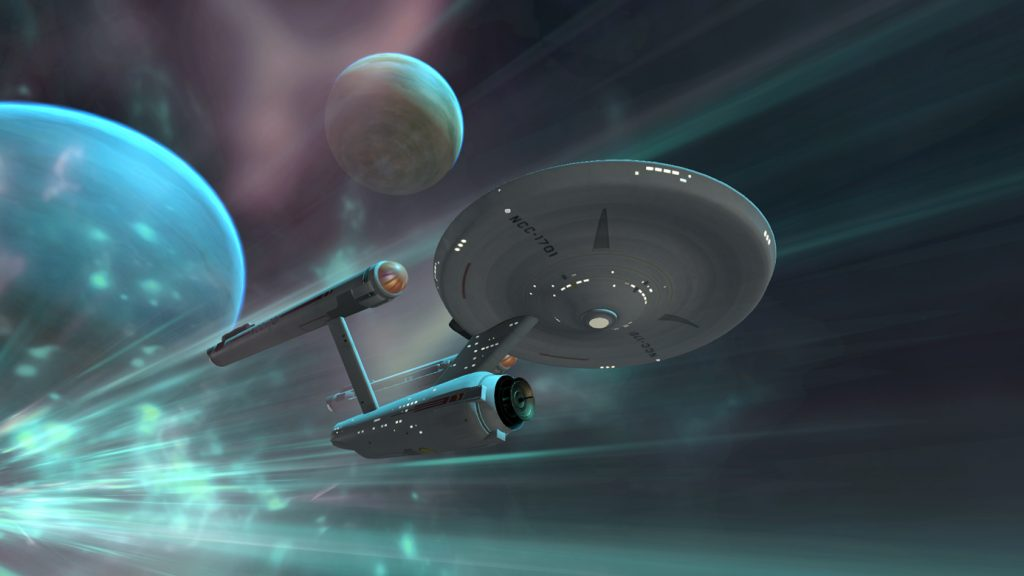 Star Trek Bridge Crew VR New Trailer Shows USS Entreprise