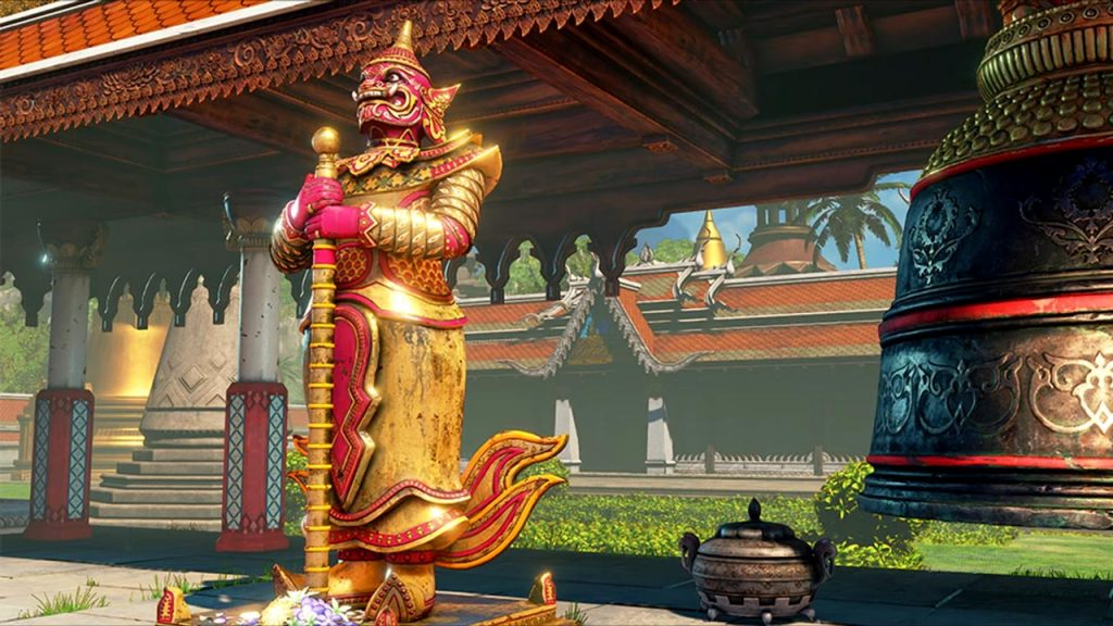 "Street Fighter 5 Stage Pulled Due to ""Unintentional Religious References"""