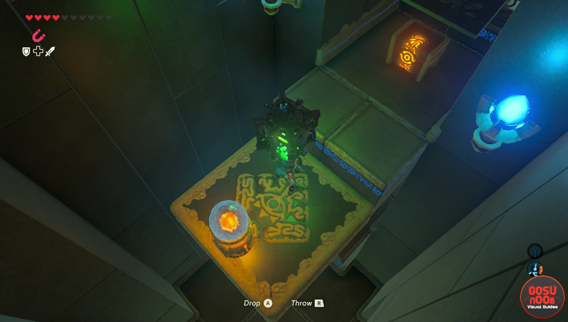 Zelda BotW Dako Tah Shrine Puzzle Solutions