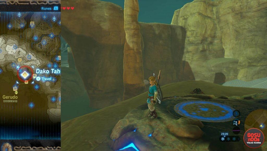 Zelda BotW Dako Tah Shrine Walkthrough