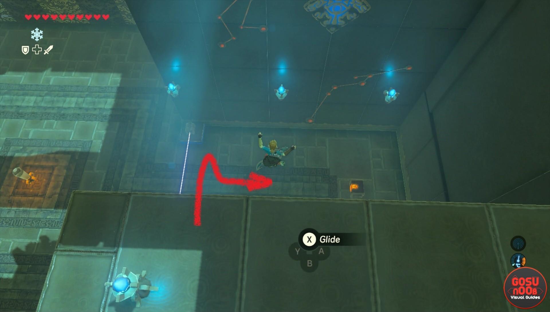Zelda BotW Ishto Soh Shrine - Bravery's Grasp Challenge