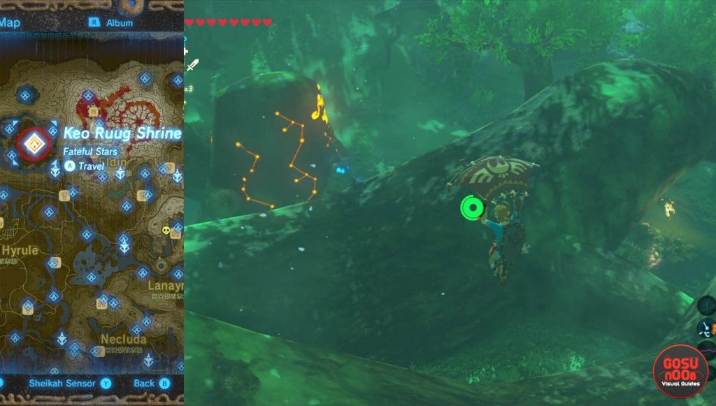 Zelda BotW Keo Ruug Korok Forest Shrine