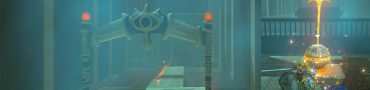 Zelda BotW Mirro Shaz Shrine Hitting The Ball