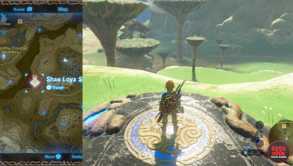 Zelda BotW Shae Loya Shrine
