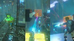 Zelda BotW Solving Dako Tah Shrine