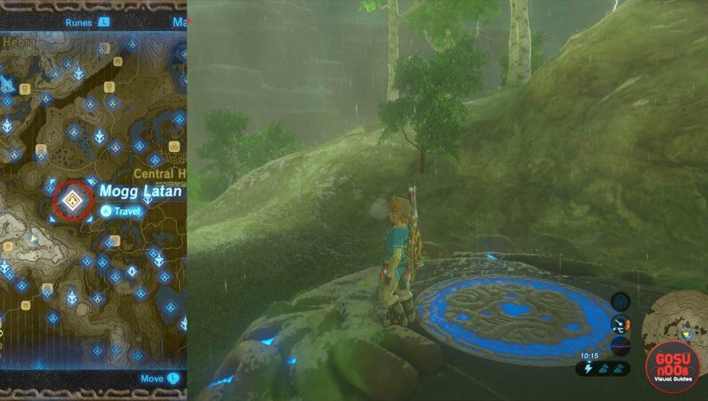 Zelda BotW Mogg Latan Shrine Guide
