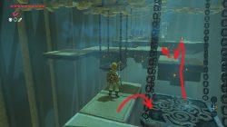 Zelda BotW Mogg Latan Swinging Platform