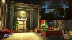 morgan yu office keycode prey