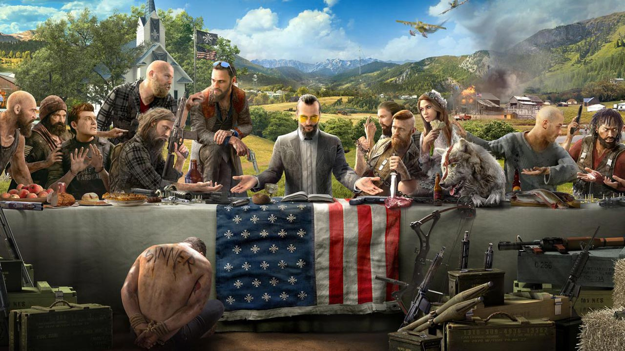 Far Cry 5 Features Character Creation And Full Co Op Campaign