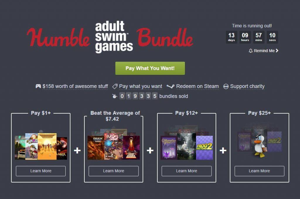 Humble Adult Swim Games Bundle Offers Rain World, Headlander & More