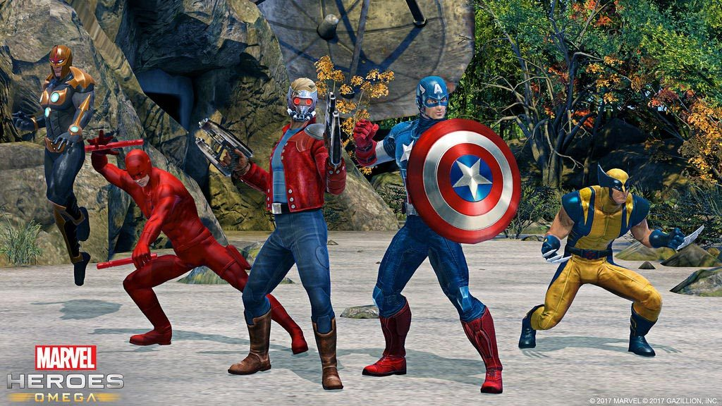Marvel Heroes Omega Open Beta on PS4 Starts May 23rd