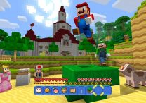 Nintendo Switch Gets Minecraft, Super Mario Mash-Up Pack Included