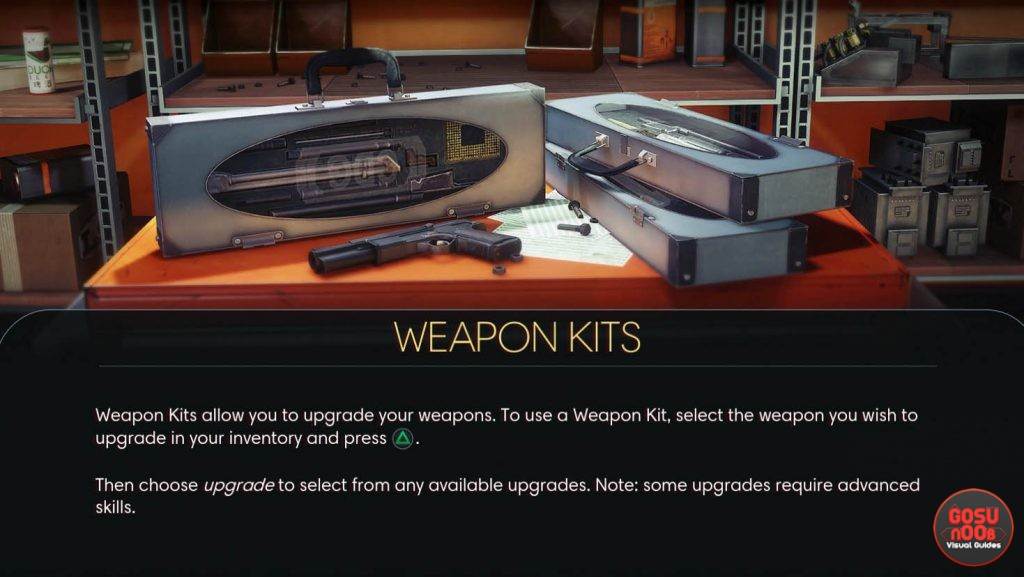Prey Weapon Upgrade Kits Location