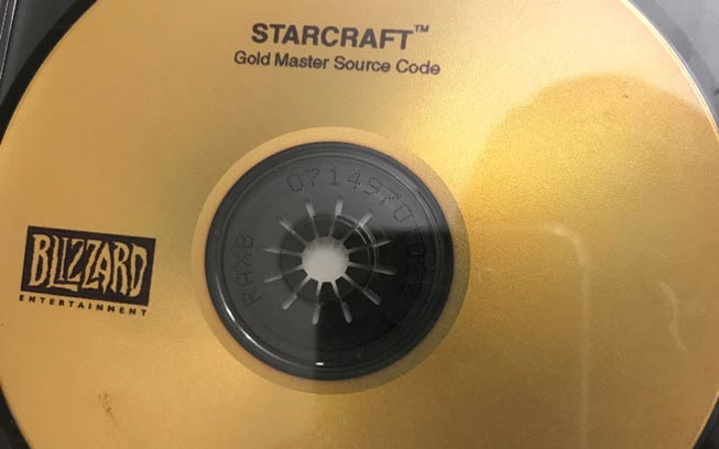 StarCraft Source Code Returned, Finder Gets Free Trip to BlizzCon
