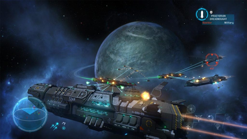 Starpoint Gemini Warlords Now in Early Access on Steam