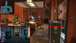 alex office secret safe keycode prey