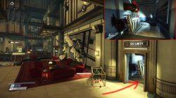 prey security station main lobby secret entrance