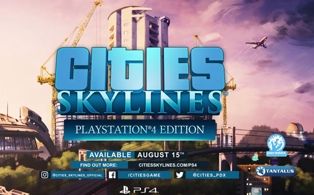 Cities Skylines Comes on PS4 and Includes the First Expansion After Dark