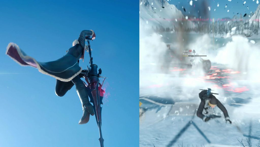 FFXV Aranea Air Attack Phase 2