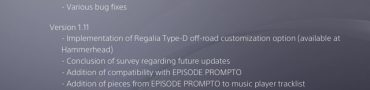 FFXV Version 1.12 and 1.11 Update Patch Notes
