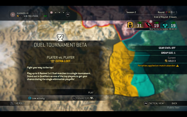 For Honor Ranked Play With Duel Tournaments Public Testing at the end of June