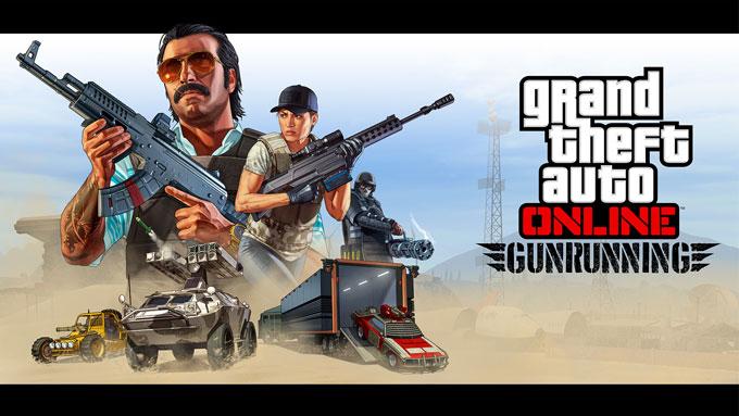GTA V Online Gunrunning Update