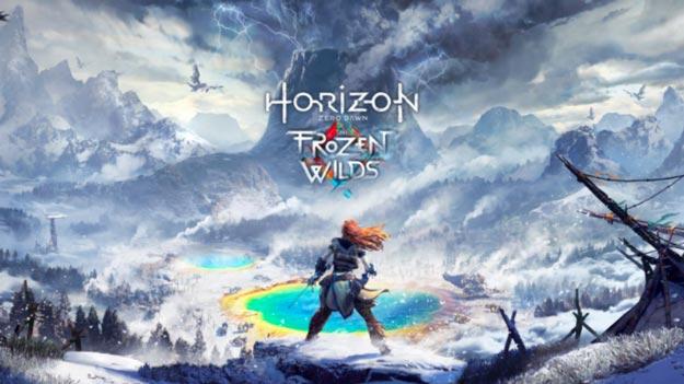 Horizon Zero Dawn The Frozen Wilds DLC Revealed on E3 2017