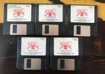 John Romero Selling Original DOOM 2 Floppy Disks on Ebay