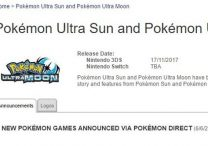 Nintendo Switch Not Getting Pokemon Ultra Sun & Ultra Moon