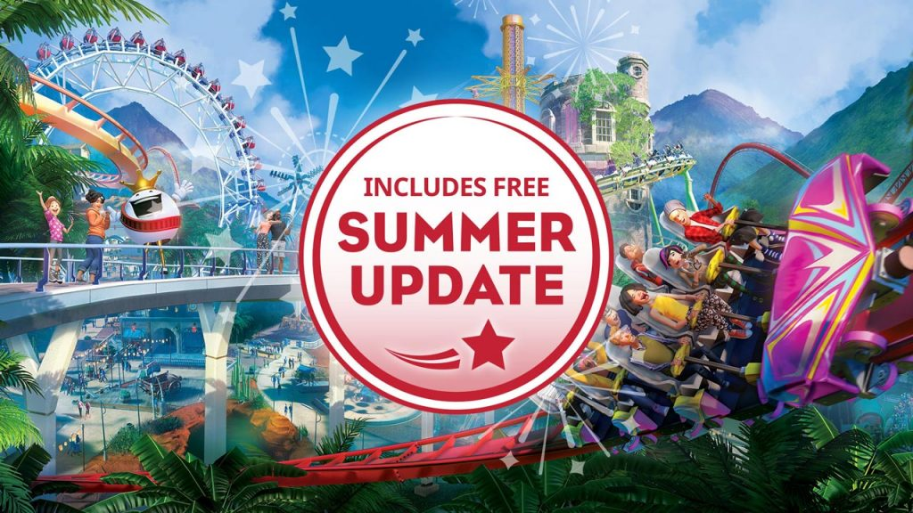 Planet Coaster Free Summer Update Available, Patch Notes Revealed