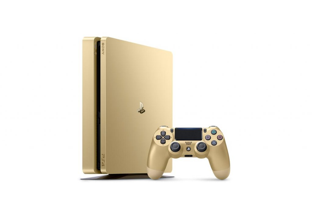 PlayStation Days of Play Deals Include Limited Edition Gold PS4