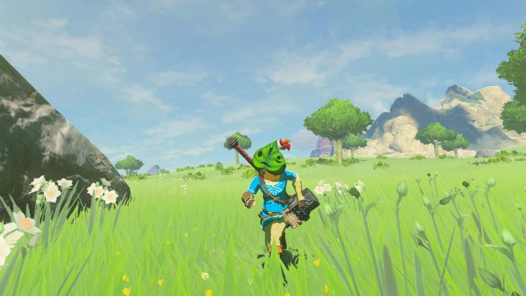 Zelda BOTW Master Trials DLC File Size Smaller on Switch
