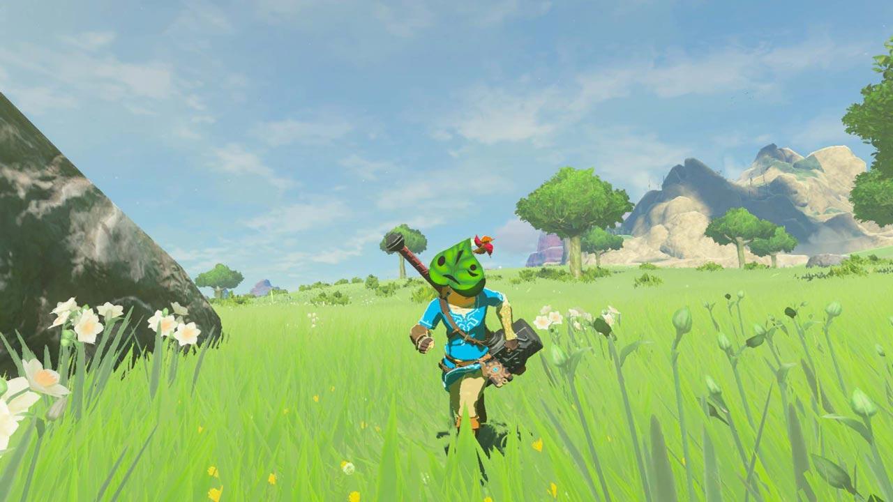 New Legend of Zelda: Breath of The Wild screenshots