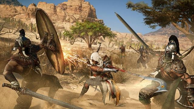 ac origins combat weapons explained