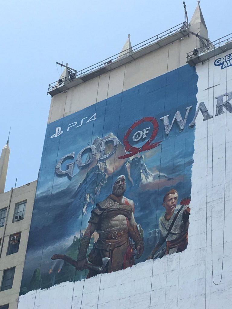 god of war e3 poster