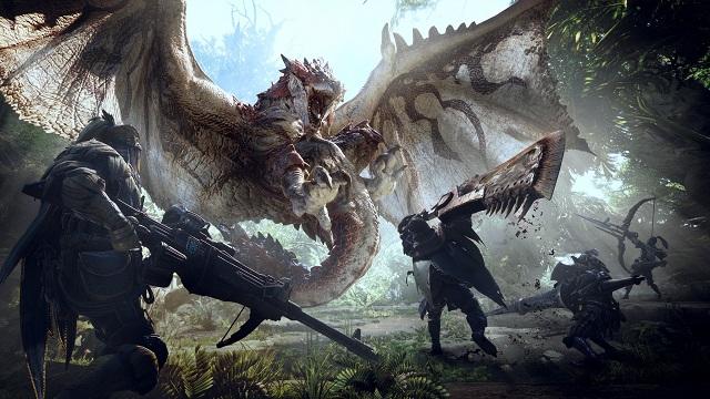 monster hunter world e3