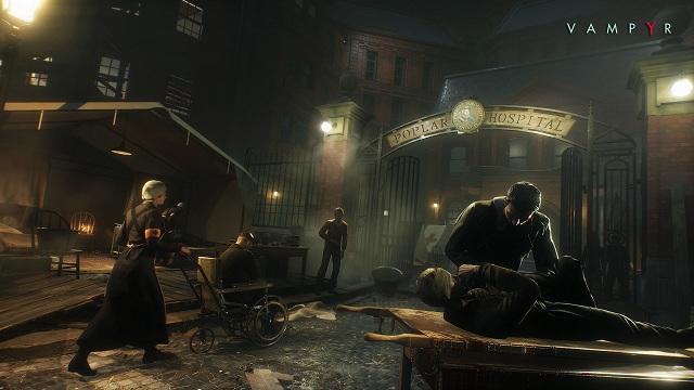 vampyr gameplay trailer e3 2017