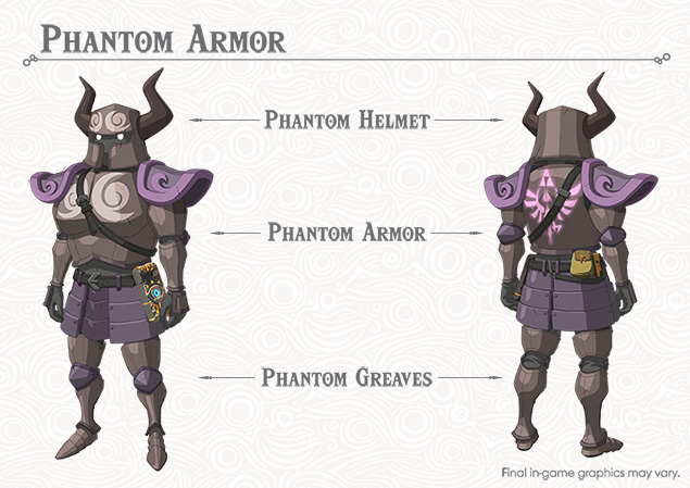 Zelda Botw Phantom Armor Location Treasure Phantasma Quest