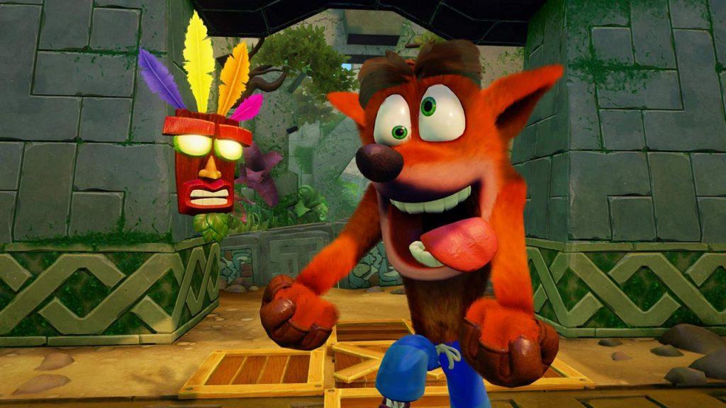 Crash Bandicoot Keeps Splatoon 2 From Top Spot in UK Sales Chart