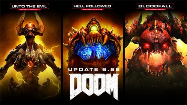 DOOM Update 6.66 Patch Notes, Free Weekend, All DLC Unlocked