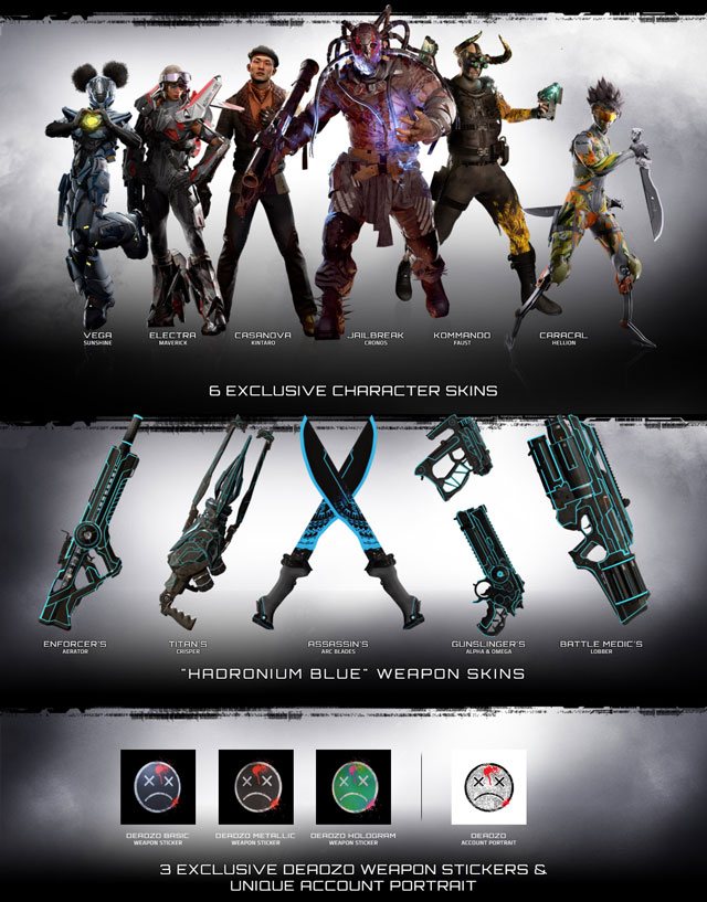 Deadzo Deluxe LawBreakers Edition