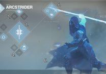 Destiny 2 Hunter Arcstrider Subclass Way of the Warrior Talents List