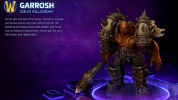 HOTS Garrosh Son of Hellscream Skin