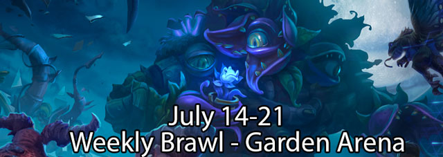 Heroes of the Storm July 14th Weekly Brawl is Garden Arena