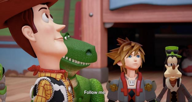 Kingdom Hearts 3 Toy Story Trailer Confirms Launch in 2018
