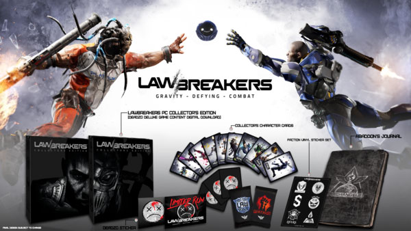 LawBreakers Collector's Edition