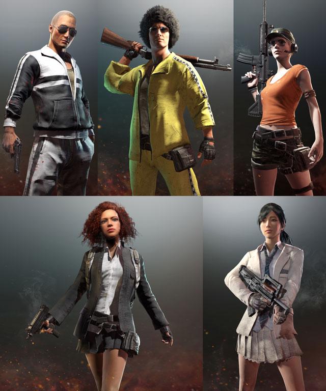 PUBG Gamescom Invitational Crate Skins