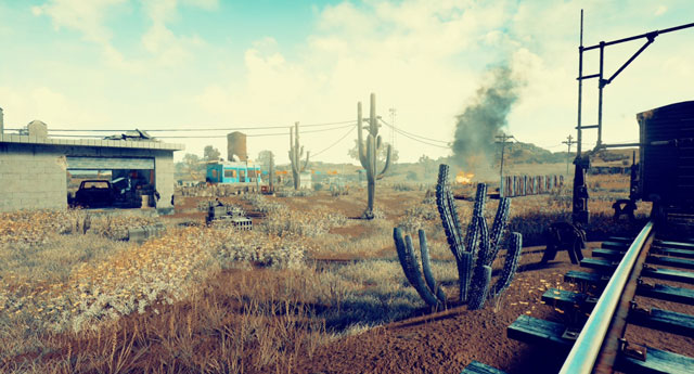 PlayerUnknown's Battleground New Peru Desert Map First Images