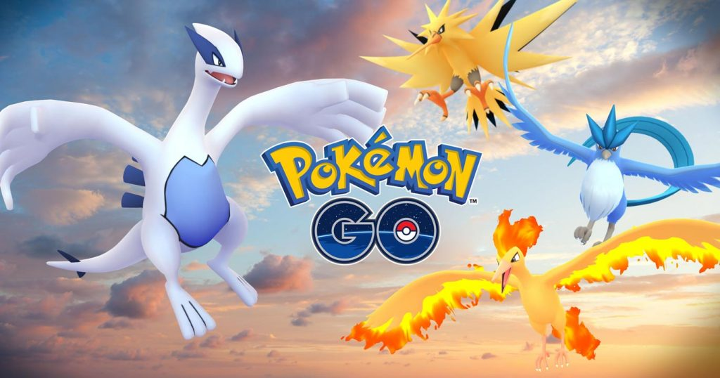 Pokemon GO Gets Legendary Birds Lugia & Articuno, More on the Way